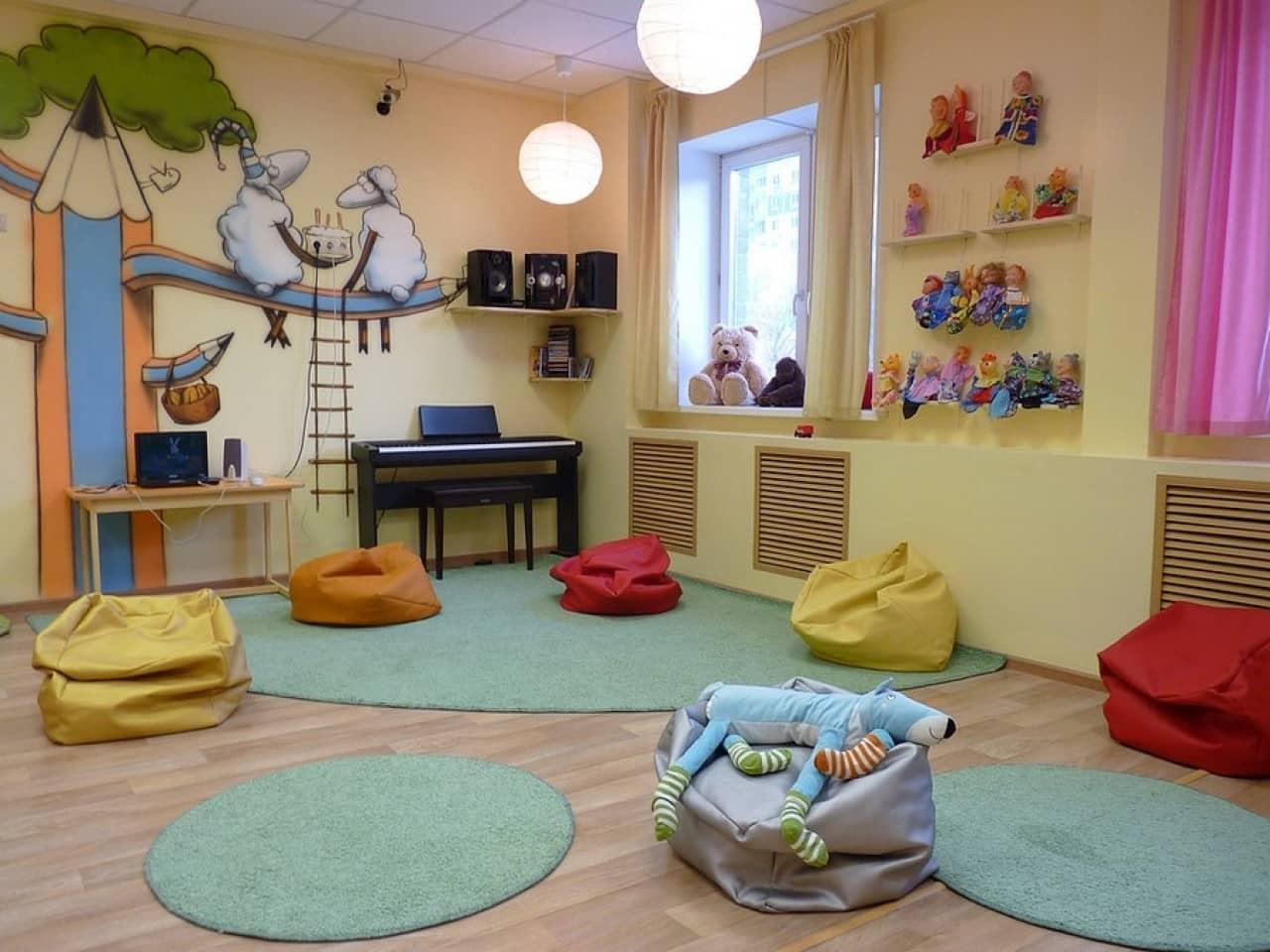 Досуговая комната для детей